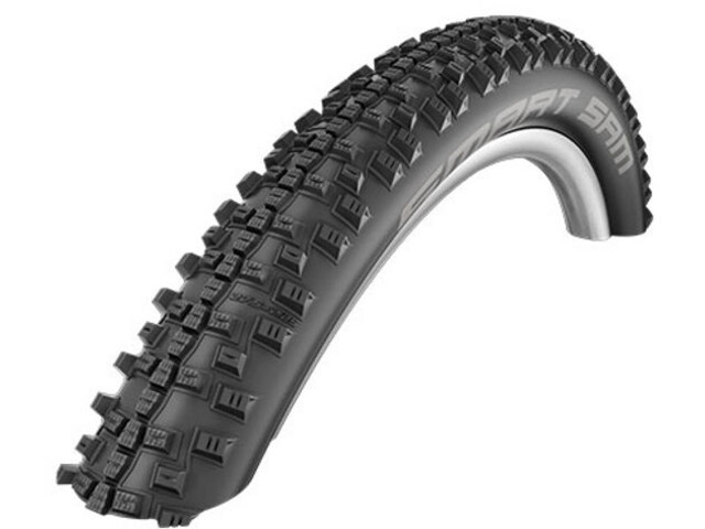 "SCHWALBE Smart Sam Wired-on Tire 29"" Addix Plus Performance SnakeSkin Greeng, black"